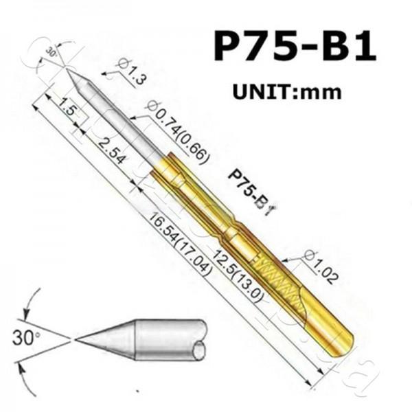 Pogo Pin P75-B1